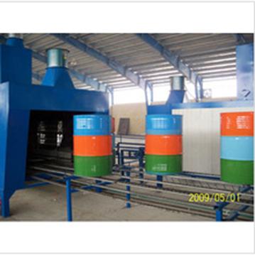 Steel drum production line or steel drum making machine 208Lt. or packaging machine 55 gallon