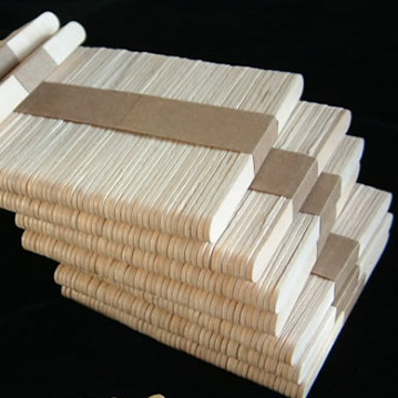 Bulk or Bandded Birch Wooden Sticks for Ice Cream