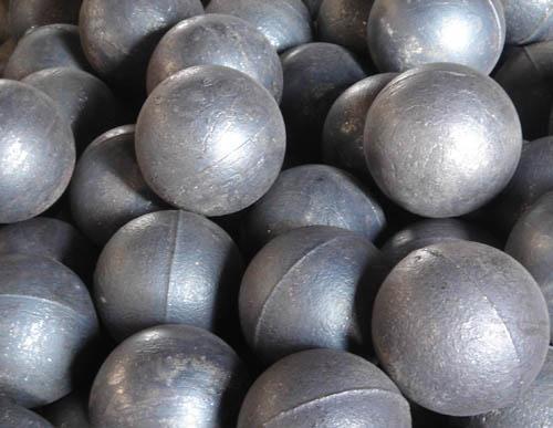High -low chromium grinding media balls
