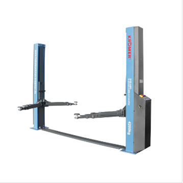 Kroemer Hydraulic Two Posts Car Lift 4,2t Automatic Locking CE Certificate 380V