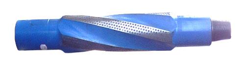 integral spiral blade stabilizer