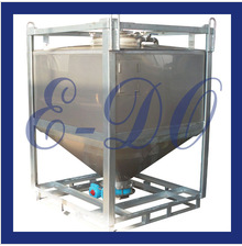 1000L food grade removable pharmaceutical hopper tank