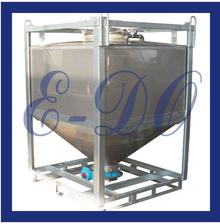 1000L food grade removable pharmaceutical hopper tank