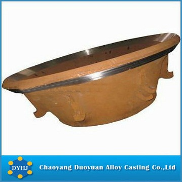 high manganese mantle crusher parts
