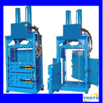 Hydraulic cotton bale press machine hydraulic waste paper bale press machine