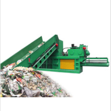 Horizontal Hydraulic Manual Tied Plastic Packing Machine