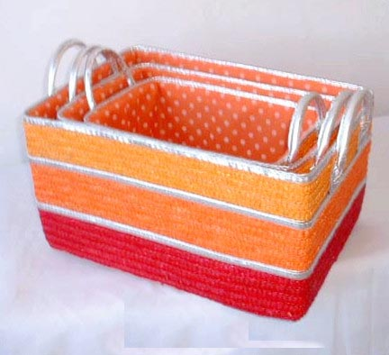 Exquisite crochet foursquare 8x8 empty gift box craft