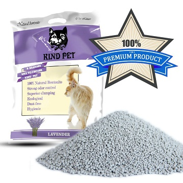 2014 High quality natural clumping bentonite flavour cat litter