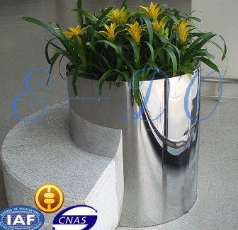 2014 direct factory stainless steel flower pots