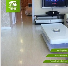 waterproof newest eco-friendly wpc indoor flooring reasonable price wpc flooring