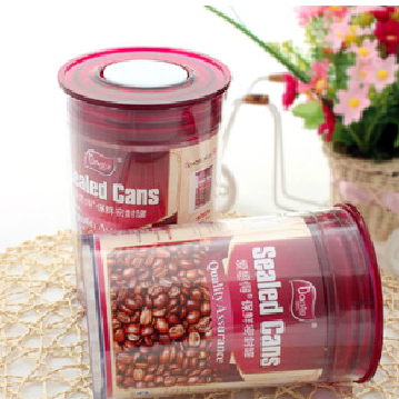 Sealed cans plastic containers food storage cans / bottles of milk cans food cans candy