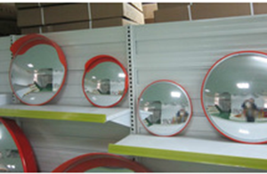 Unbreakable Safety Convex Mirror