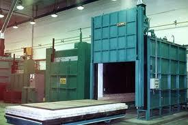 Large trolley electric furnace