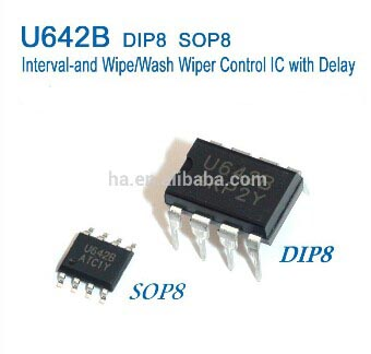 Interval-and Wipe/Wash Wiper Control IC with Delay