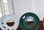 TS 16949 certificated steel wheel rim used for truck tubeless wheels and tube type wheel auto spare parts manufacturer