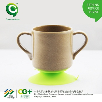 Drinking cup set Best-selling Biodegradable cup with handle kids cup