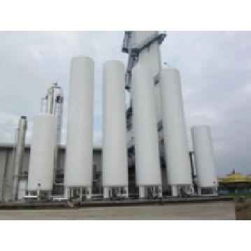 Storage pressure container liquid argon tank