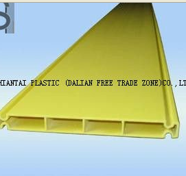 high quality yellow PVC extrusion profiles