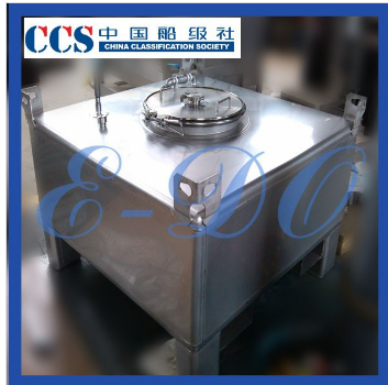 stainless steel removable tank for chemical goods