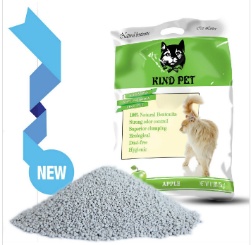 2014 best natural scent clumping cat litter bentonite clay price