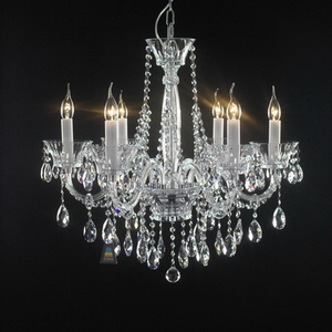 Clinder-shaped modern decorative fancy crystal chanderlier