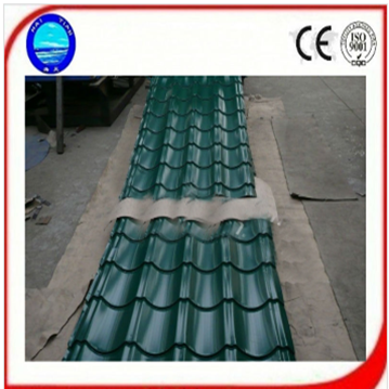 Colored Steel Glazed Tile Zinc Coat Steel Roof Tile