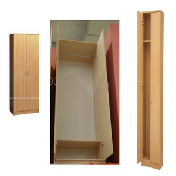 2014 hot sale with sliding door high gloss bedroom wardrobe