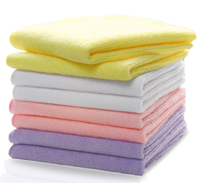 microfiber face towels made in China wholesale