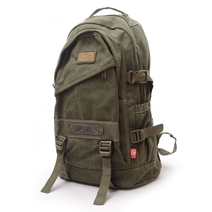 l Canvas Backpack Bag