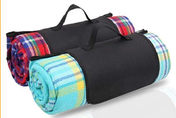 fold up picnic blankets lattice style acrylic fibres waterpoof picnic blanket wholesale