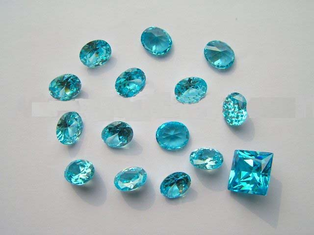 Color Cz Stone Perfect Cut AAA Quality