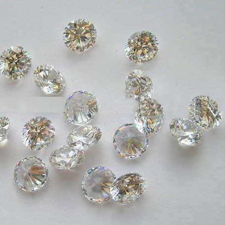 Cubic Zirconia 3A brilliant cut