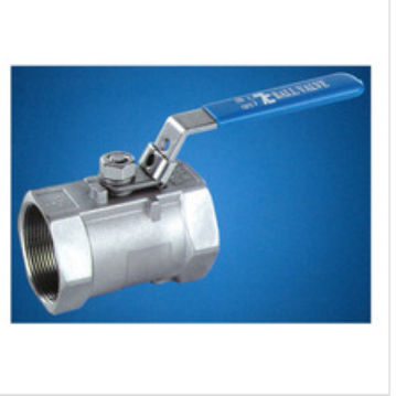 Model TC100 carbon steel/ TC112 stainless steel reduce port 1000WOG locking device screwed end 1-pc ball valve