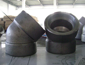 Forged Steel Pipe Fittings Threaded Elbow