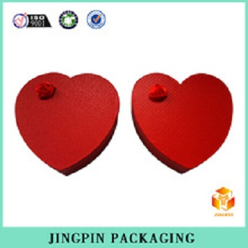 2014 valentine day red heart shape box
