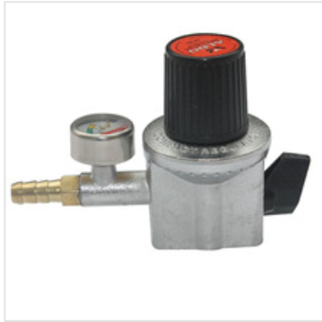 gas cylinder regualtor valve with gauge (high pressure)