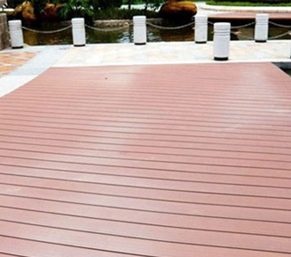 Outdoor WPC Floor/Wood And Plastic Composite Decking Floor