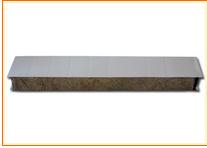Composite rock wool board