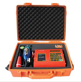 RV-100P portable ultrasonic flowmeter/sewage flow meter / flujometro / medidor de flujo