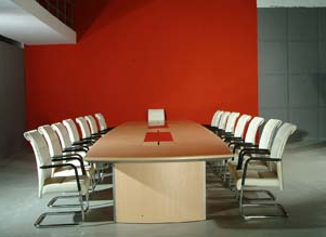 Modern Wood Office Conference Table (XZ-CT)