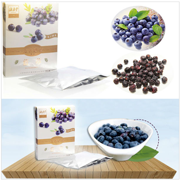 Freeze-dried blueberry-FD technology