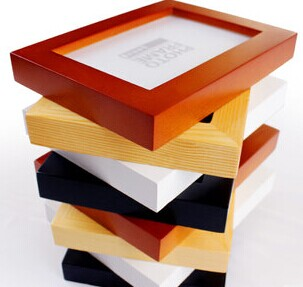 10 inch solid wood straight frame/place is optional