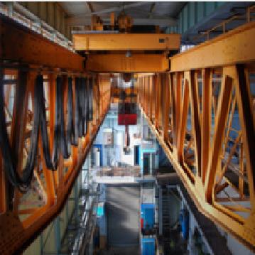 Electric double beam overhead bridge crane general industry equipment