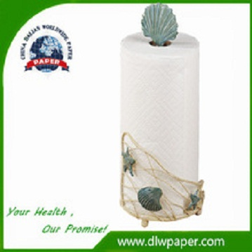 Emboss Logo Disposable Kitchen Paper Towel,Made of 100 precent virgin pulp,water and oil-absorbing