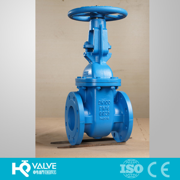 Flanged Ends GG25 Water Valve Manufacturer