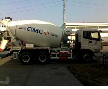 9m3 Concrete Mixer Truck