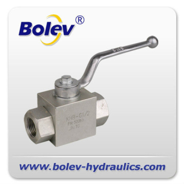 2 way Hydraulic manual valve