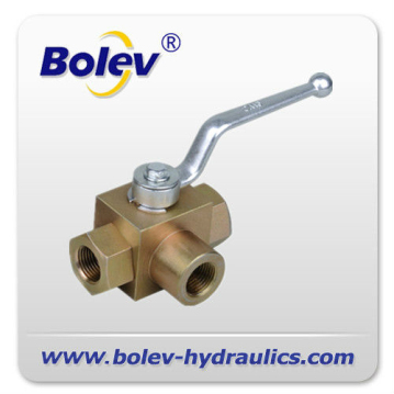 500bar 3 way Hydraulic cut off valve