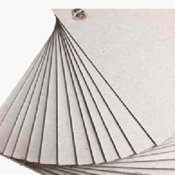 Hardcover paper for book/grey chip board