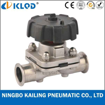 Manual Operated Diahpragm Valves, tri-clamp connection, DN8-50